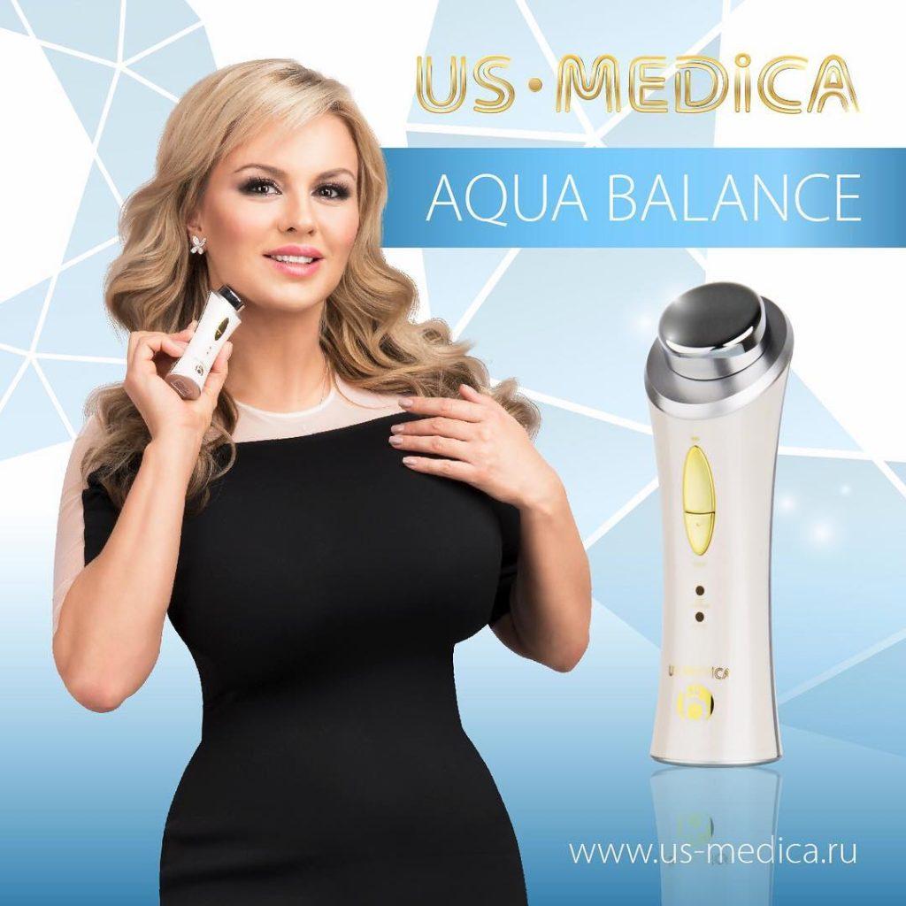 Анна Семенович в рекламе US MEDICA Фото: Инстаграм