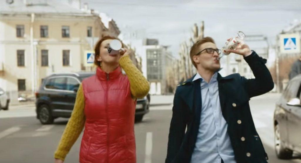 """Кадр из клипа """"В Питере - пить"""" Фото: nolook.ru"""