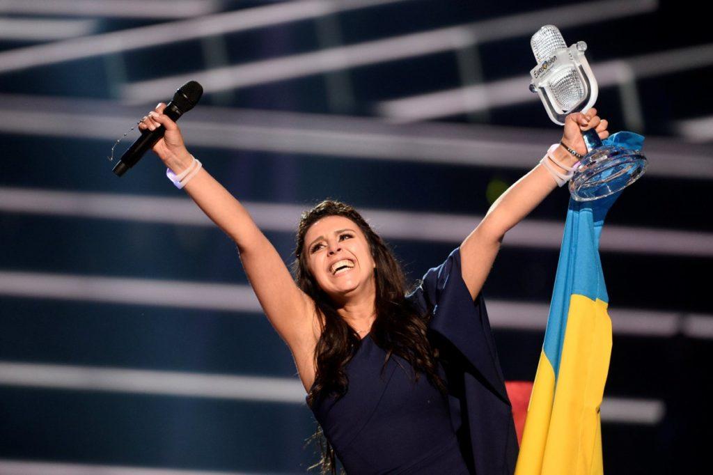 """Джамала выиграла """"Евровидение-2016"""" Фото: AFP"""