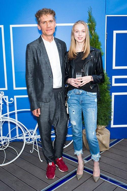 Илья Бачурин и модель Анна Сапожникова Фото: Инстаграм