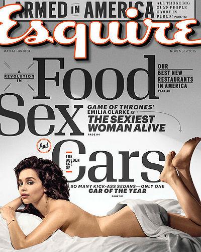 Самая сексуальная женщина 2015 года по версии журнала Esquire