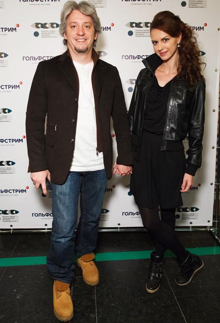 Лянка Грыу с мужем Михаилом Вайнбергом Фото: Starface