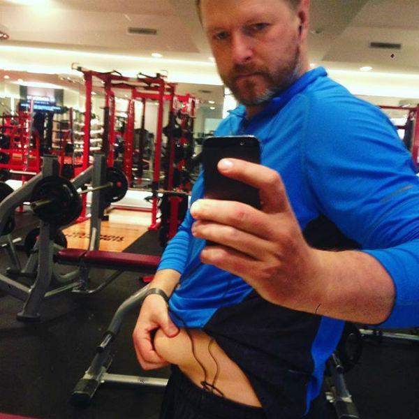 Евгений Кафельников регулярно посещает спортзал Фото: Инстаграм