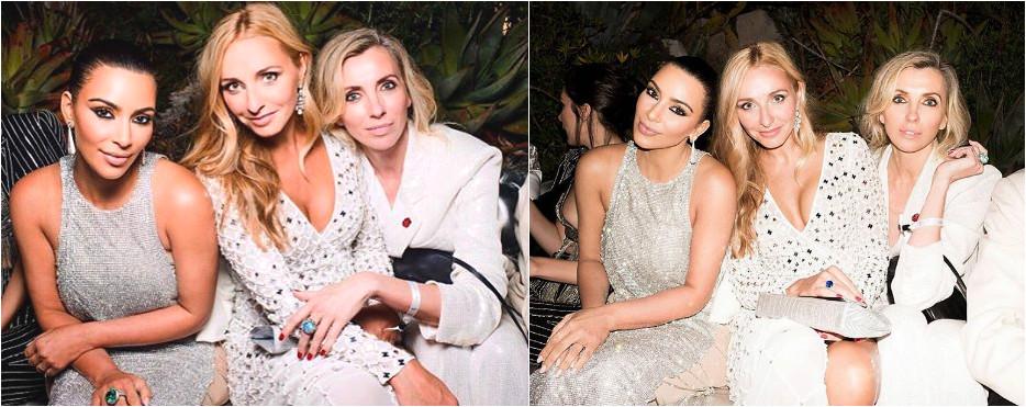 Татьяна Навка и Светлана Бондарчук встретились с Ким Кардашьян Фото: Инстаграм