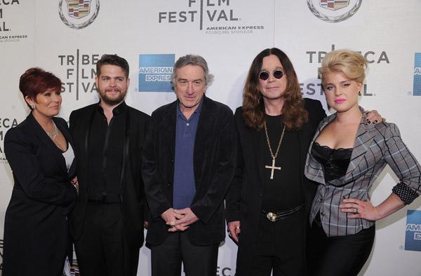 Знаменитая семья на премьере документального фильма о музыканте Фото: liveinternet.ru