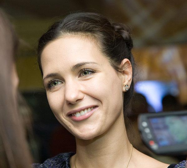 Екатерина Климова впервые вышла в свет с мужем