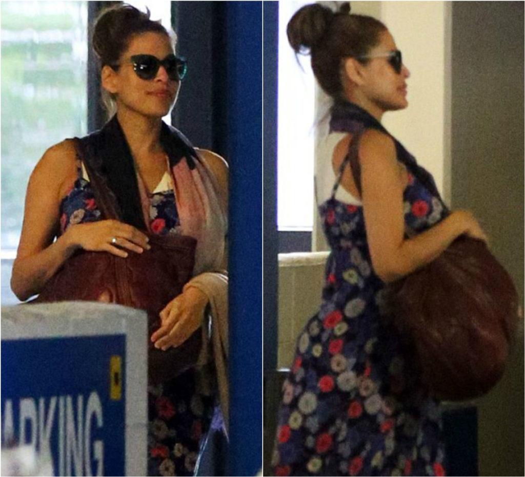 Ева Мендес снова беременна Фото: Daily Mail