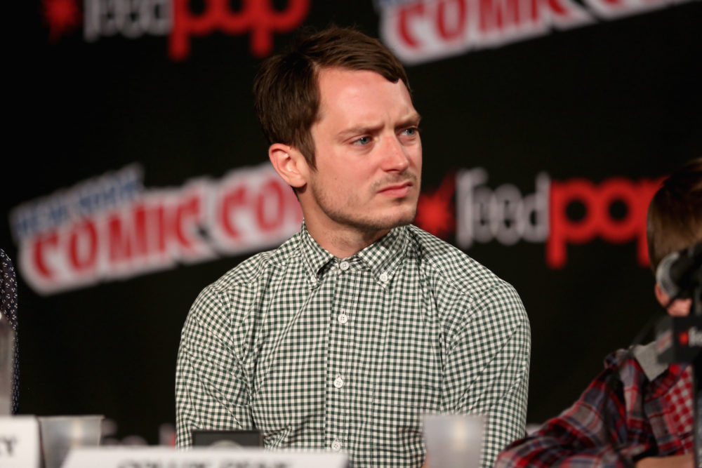 NEW YORK, NY - OCTOBER 12: Elijah Wood attends the Cartoon Network Super Press Hour: CN Anything Cartoon Network at New York Comic Con 2014 at Jacob Javitz Center on October 12, 2014 in New York City.  24884_011_0818.JPG  (Photo by Paul Zimmerman/Getty Images for Turner Networks)