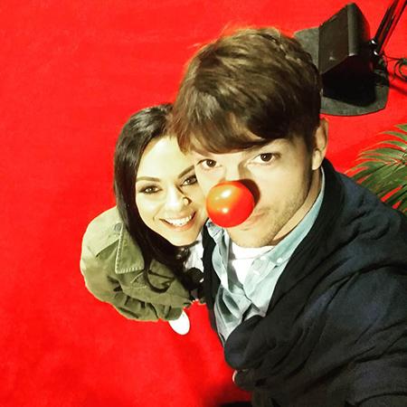Первое селфи Эштона Катчера и Милы Кунис Фото: Инстаграм