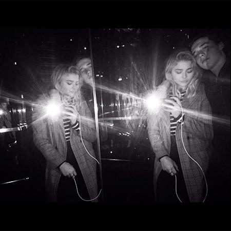Хлоя Морец с бойфрендом Бруклином Фото: Инстаграм
