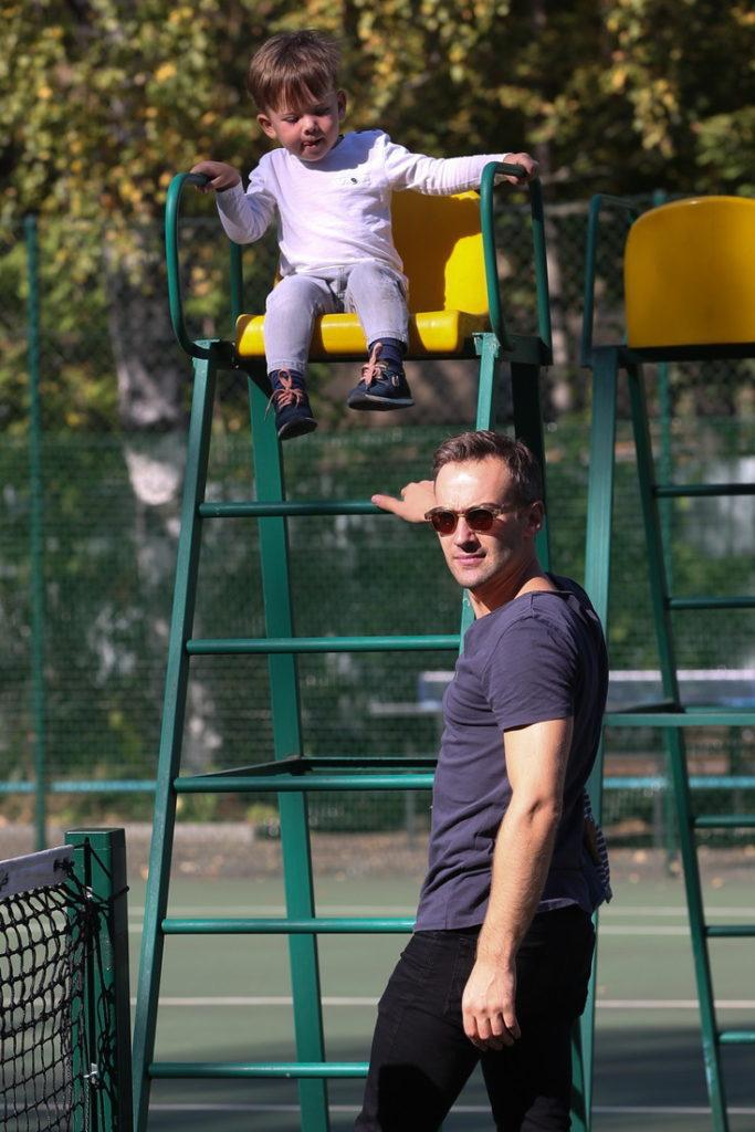 Дмитрий Шепелев с сыном Платоном Фото: Инстаграм