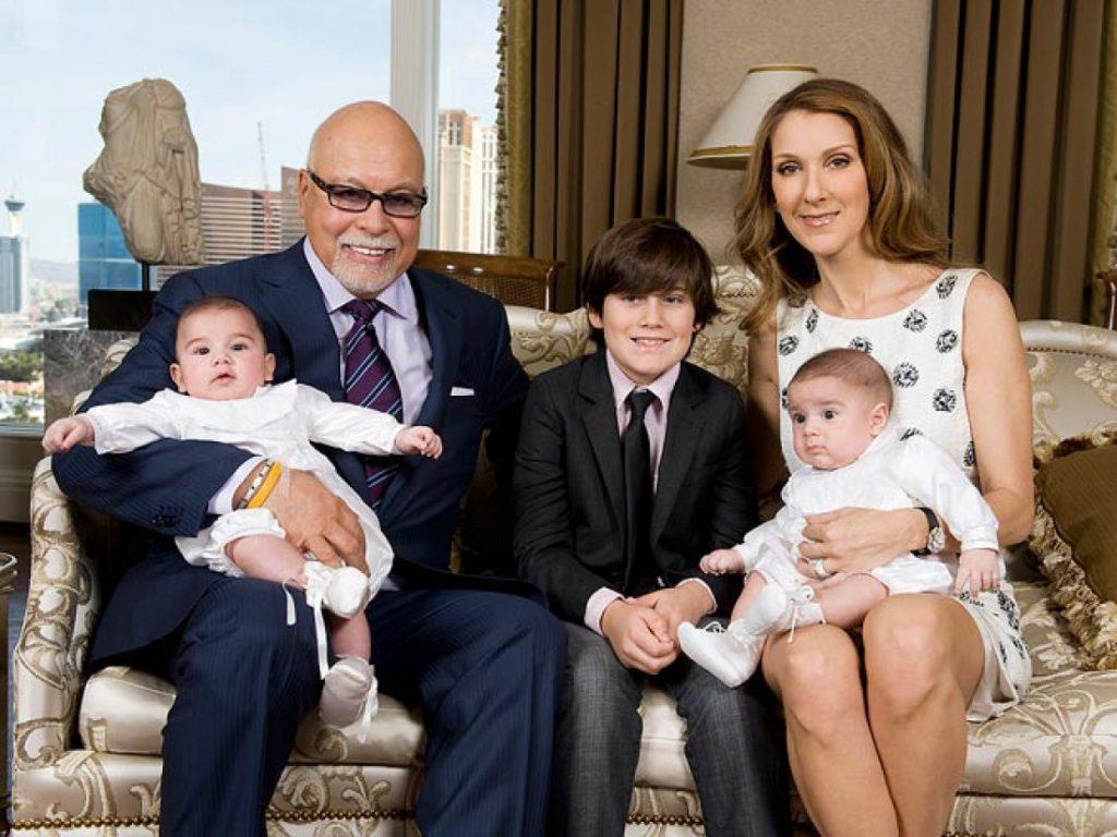 Селин Дион с мужем и детьми Фото: Globalsentinel.news