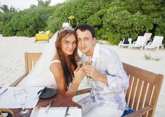 Алена Водонаева с первым мужем Алексеем Малакеевым Фото: Инстаграм