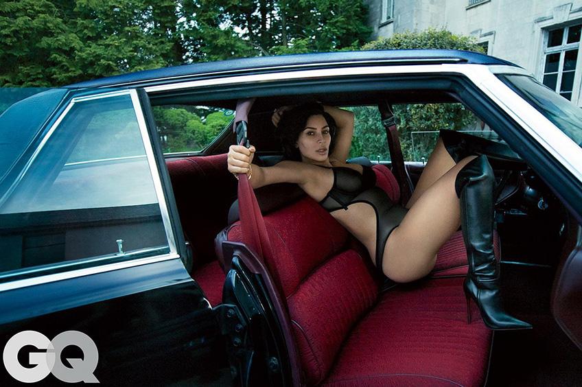 Ким-Кардашян в фотосесси для популярного издания Фото: GQ