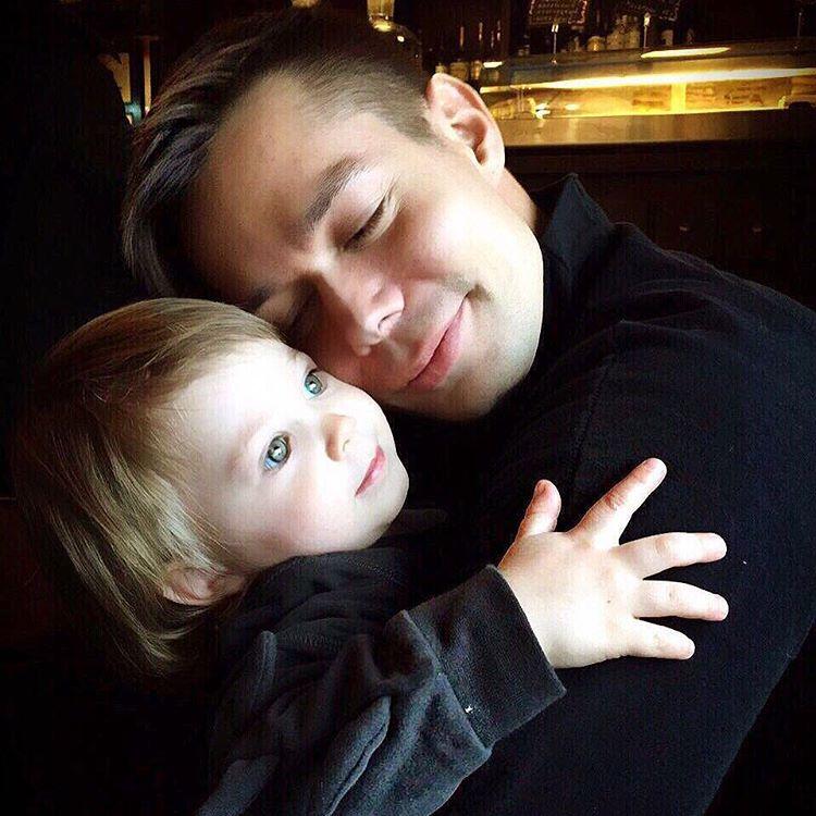 Стас Пьеха опубликовал трогательный снимок с сыном Фото: Инстаграм