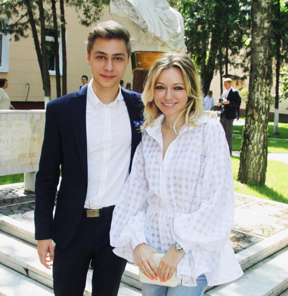 Инна Маликова с сыном Фото: Инстаграм