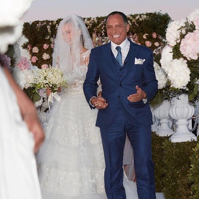 Свадьба молдавской модели Ксении Дели и и президента группы Amiral Осамы Фати Рабах аль-Шарифа Фото: tatler.ru