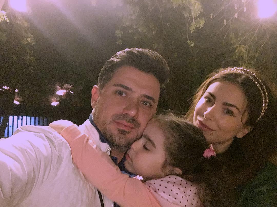 Ани Лорак восхищается мужем и дочерью