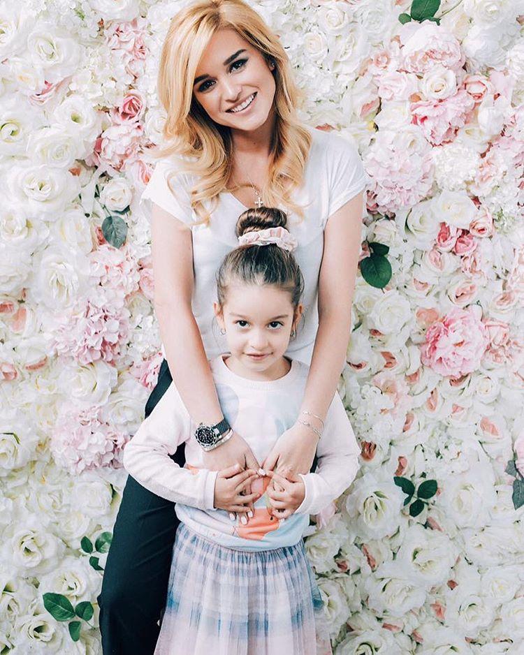 Ксения Бородина со старшей дочерью Марусей Фото: Инстаграм