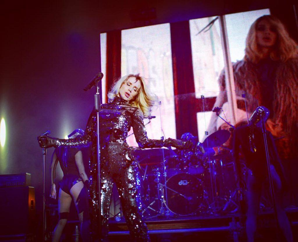 Светлана Лобода во время концерта в Днепре Фото: Инстаграм