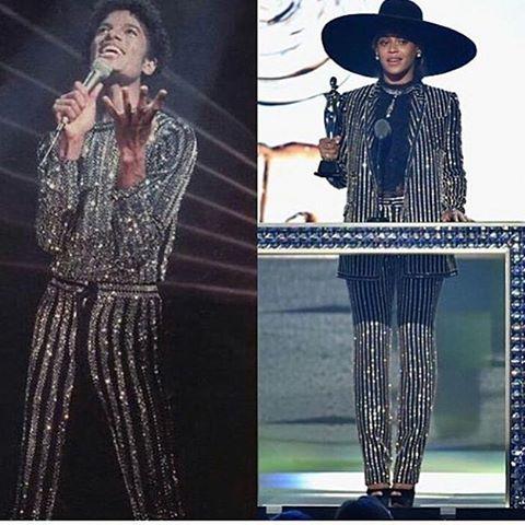 Костюм Бейонсе сравнили с нарядом Майкла Джексона Фото: Инстаграм