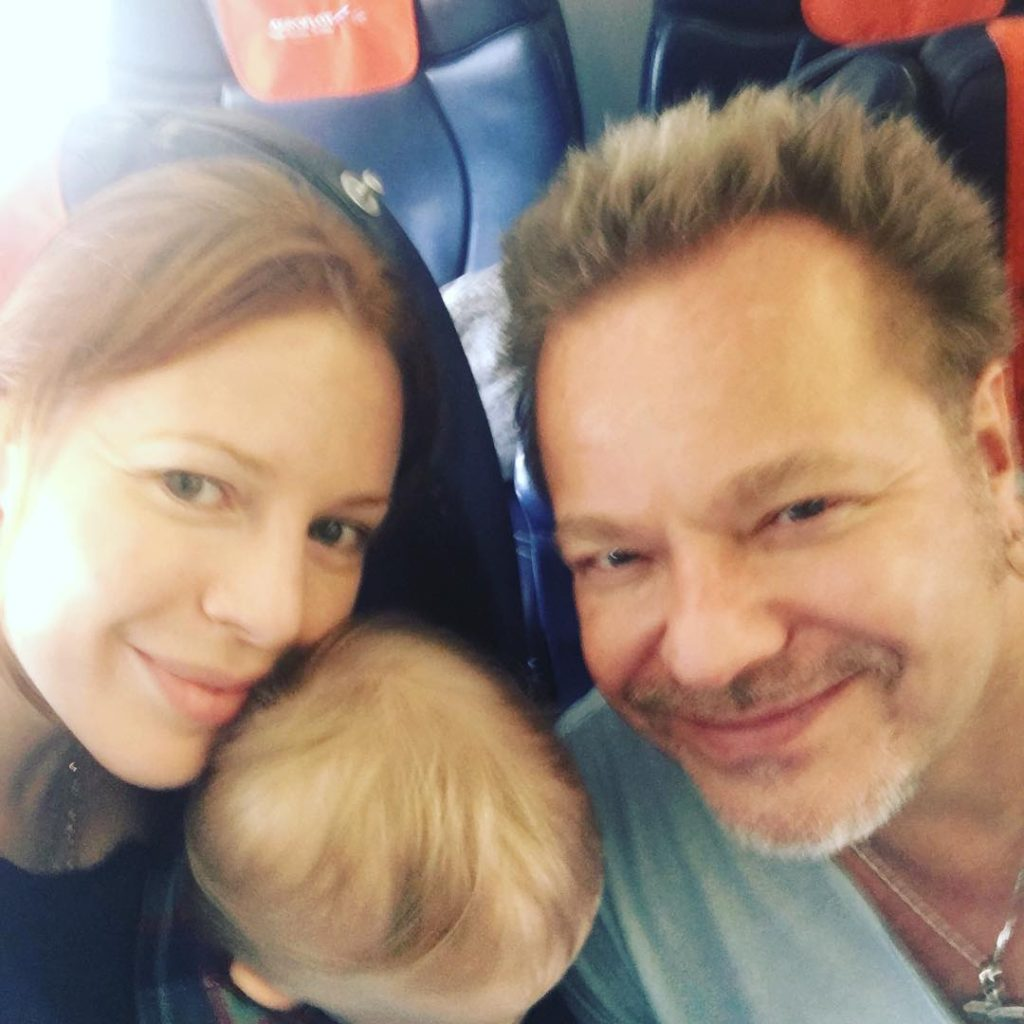 Наталья Подольская с мужем Владимиром Пресняковым и годовалым сыном Фото: Инстаграм