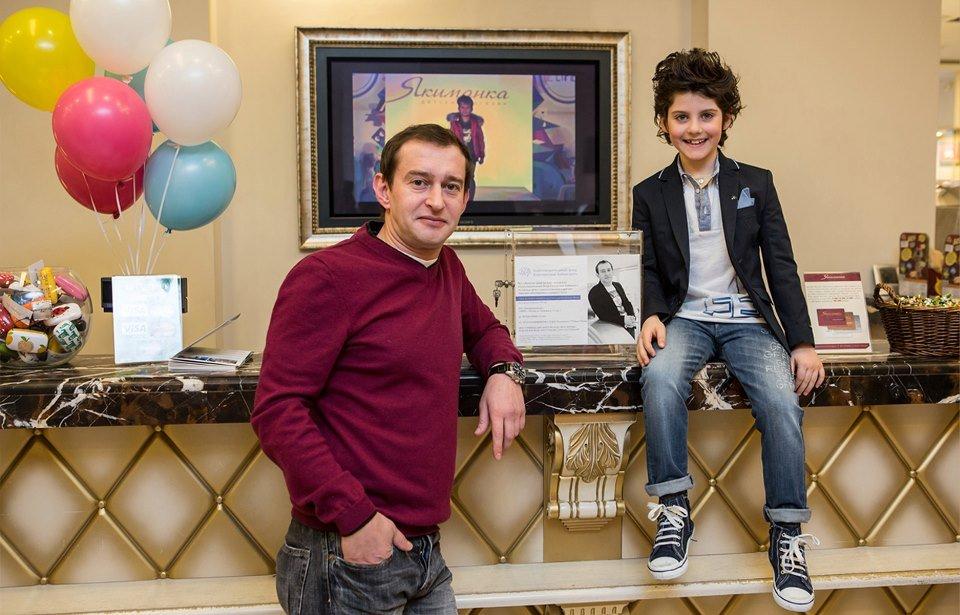 Константин Хабенский с сыном Фото: svopi.ru