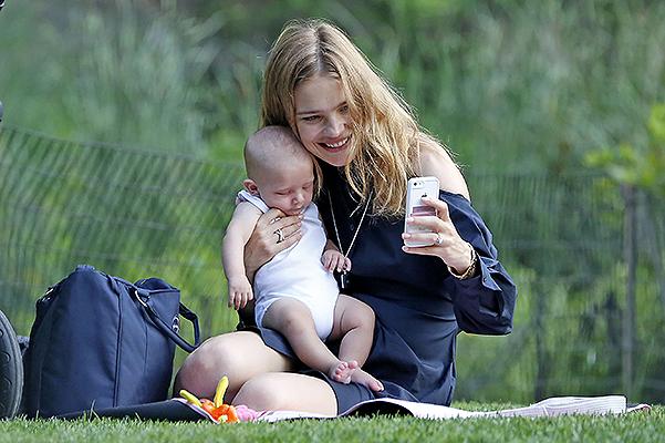 Наталья Водянова в пятый раз стала мамой