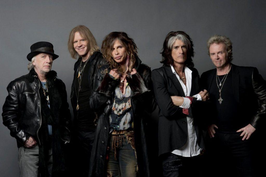 Участники группы Aerosmith Фото: wordpress.com
