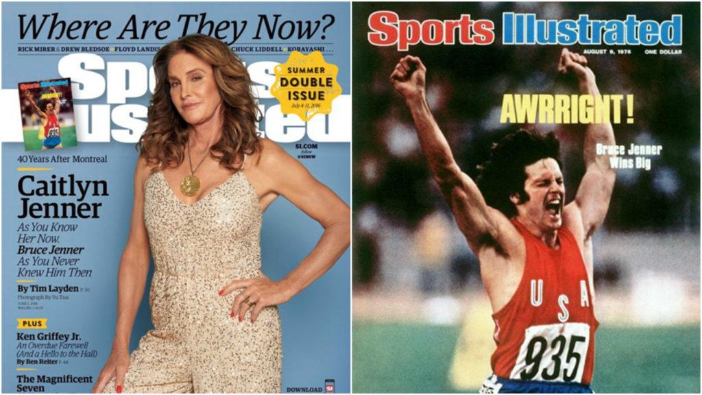 Дженнер вернулась на обложку Sports Illustrated через четыре десятка лет Фото: Sports Illustrated