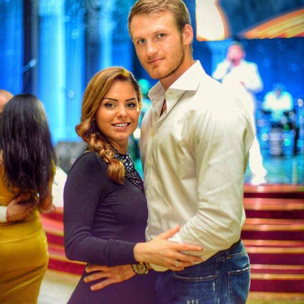 Иван Телегин с бывшей женой Фото: СтарХит