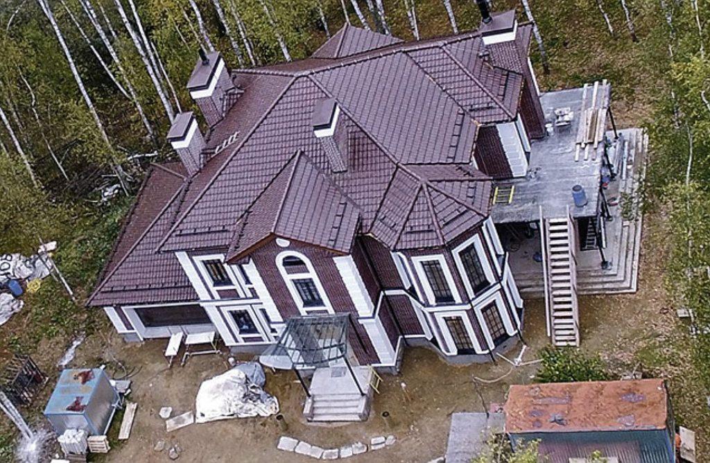 Загородный дом Шепелева и Платона в Истринском районе Фото: Инстаграм