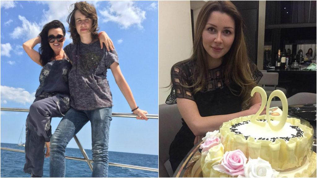 15-летний сын актрисы Майкл и 20-летняя дочь Анна от брака с бизнесменом Дмитрием Стрюковым Фото: Инстаграм