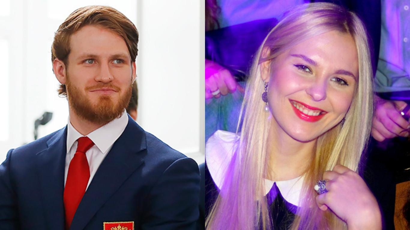 Пелагея вышла замуж за хоккеиста Ивана Телегина