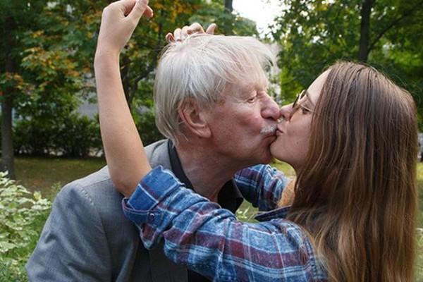 85-летний Иван Краско и 25-летняя Наталья Шевель Фото: Инстаграм