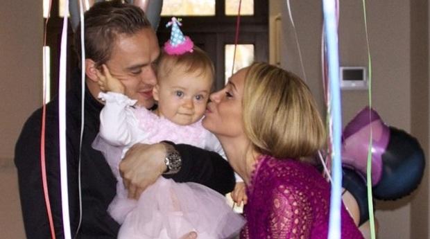 Андрей Ещенко с экс-супругой Марией и дочерью Фото: Инстаграм
