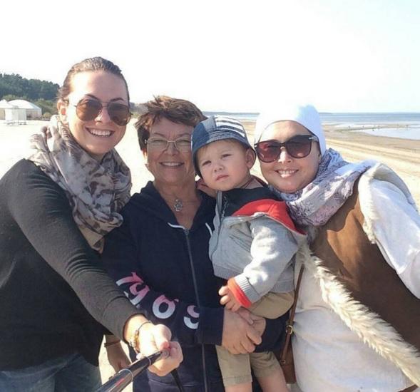 Жанна с мамой, сестрой и сыном Фото: Инстаграм