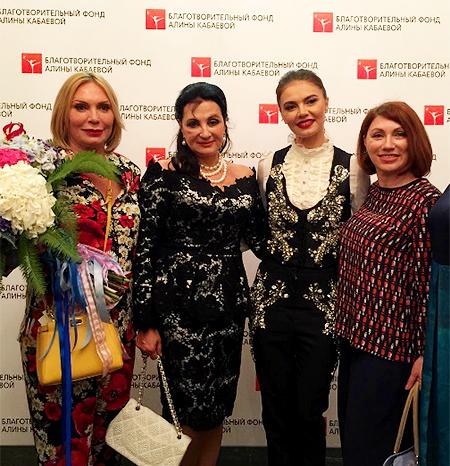 Любовь Кабаева, Ирина Винер, Алина Кабаева и Роза Сябитова Фото: Инстаграм