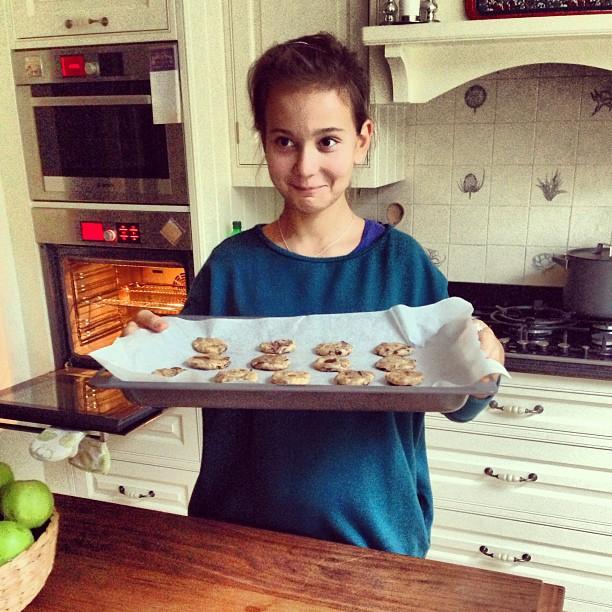 До аварии Маша Кончаловская часто принимала участие в мамином кулинарном шоу Фото: Инстаграм