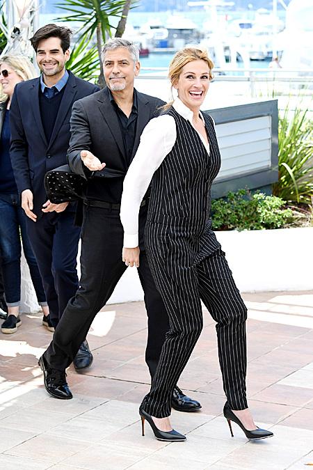 Джордж Клуни и Джулия Робертс, Канны-2016 Фото: Hellomagazine