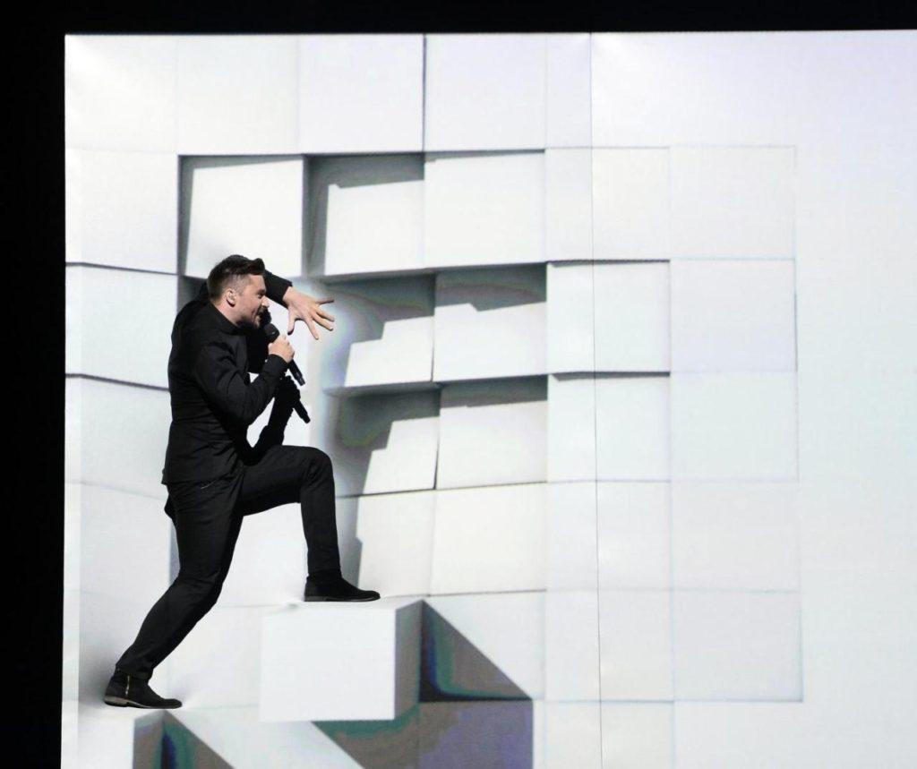 """Сергей Лазарев на """"Евровидении-2016"""" Фото: news.day.az"""