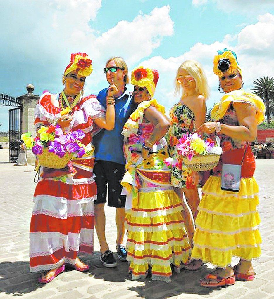 Рудковская и Плющенко устроили отпуск на Кубе Фото: Рrozvezd