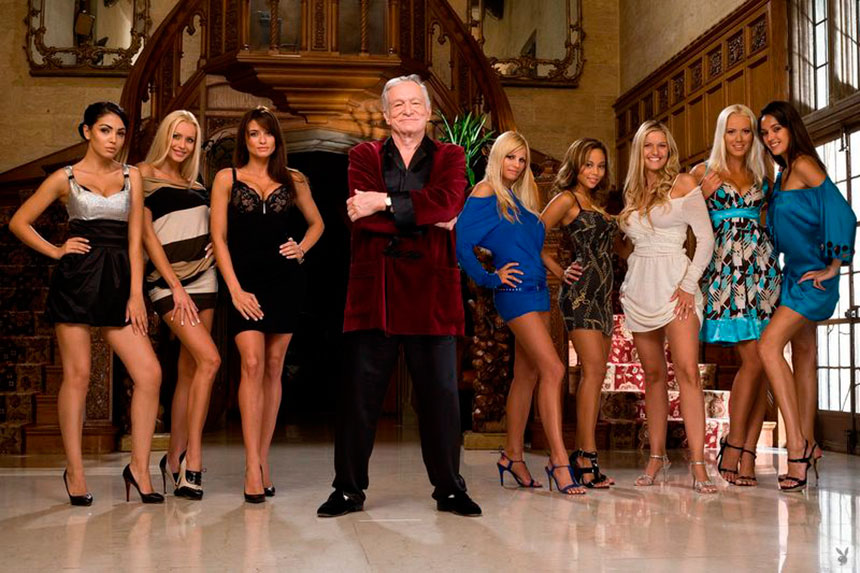 a comparison of larry flint and hugh hefner in american millionaires and icons
