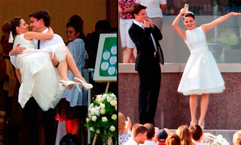 Свадьба Максима Матвеева и Лизы Боярской Фото: bloknot.ru