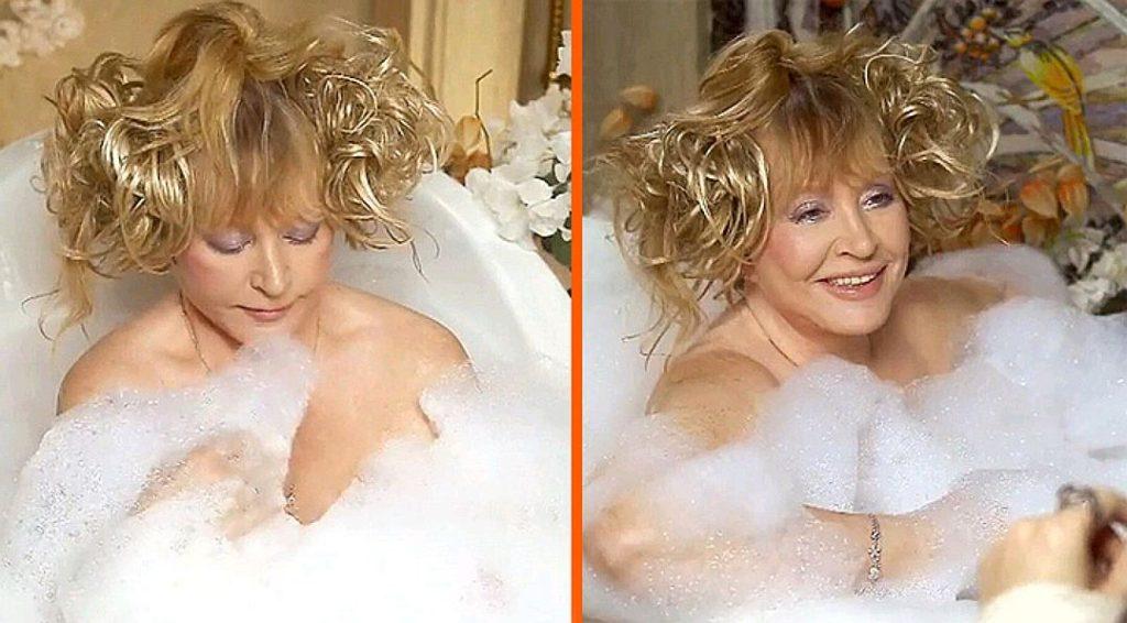 Примадонна отечественной сцены плещется в своей ванной в деревне Грязь Фото: Инстаграм