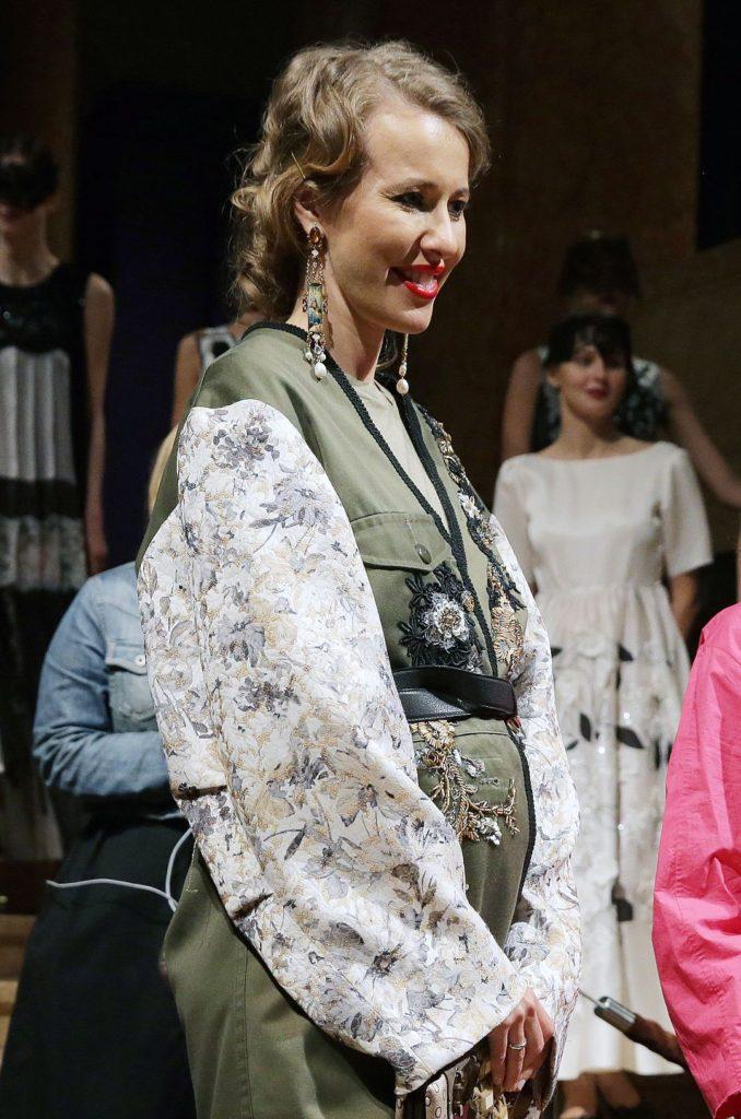 Ксения Собчак на выставке театрального художника Леона Бакста Фото: ТАСС