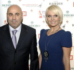 Валерия и Иосиф Пригожин. Фото с сайта www.gpclub.ru