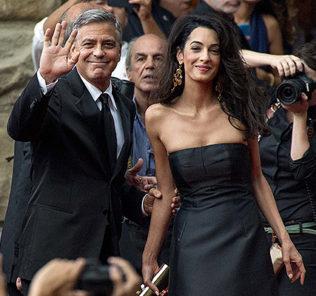 В 55 лет Клуни впервые станет папой