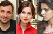 Евгений Цыганов, Юлия Снигирь и Ирина Леонова