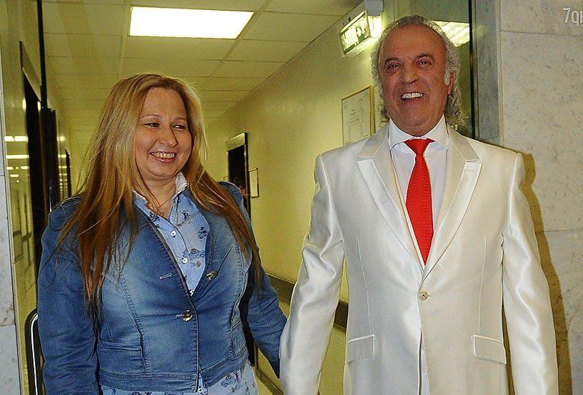 Илья Резник и Ирина Романова. Фото с сайта www.1tvnet.ru